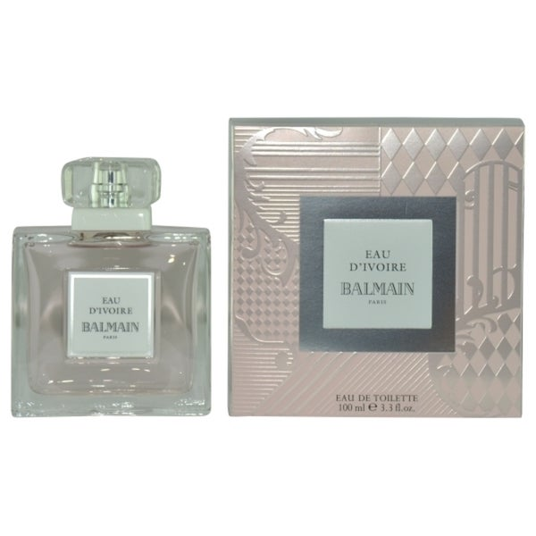 Balmain Eau d'Ivoire Women's 3.4-ounce Eau de Toilette Spray