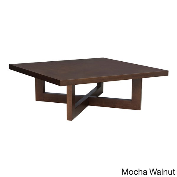 Regency 37 Inch Chloe Square Veneer Coffee Table 16613890