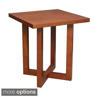 Regency 21-inch Chloe Square Veneer End Table