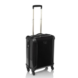 T-Tech by Tumi Tegra-Lite 22-inch Carbon Black Hardside Continental Carry-on Spinner Suitcase