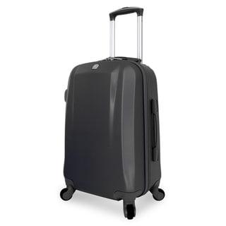SwissGear Black 19-inch Hardside Spinner Upright Suitcase