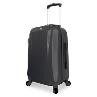 SwissGear Black 19-inch Hardside Spinner Upright Suitcase