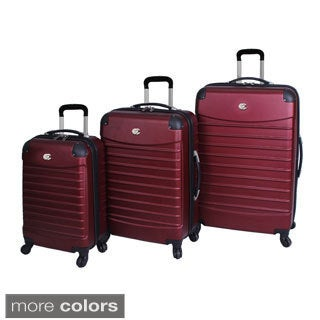 Bill Blass Voyager 3-piece Hardside Spinner Upright Luggage Set