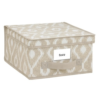 The Macbeth Collection India Faux Jute Medium Storage Box