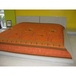 Bassetti Wildlife Cotton Bedspread