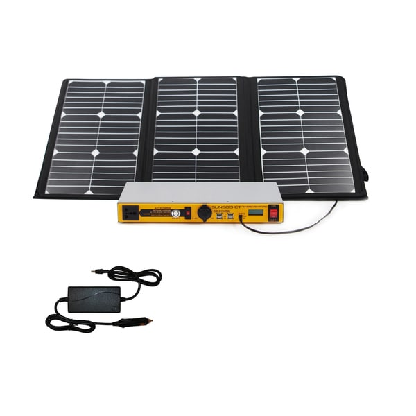 Solar Power Pack Plus 60 Generator/ Solar Panel Set