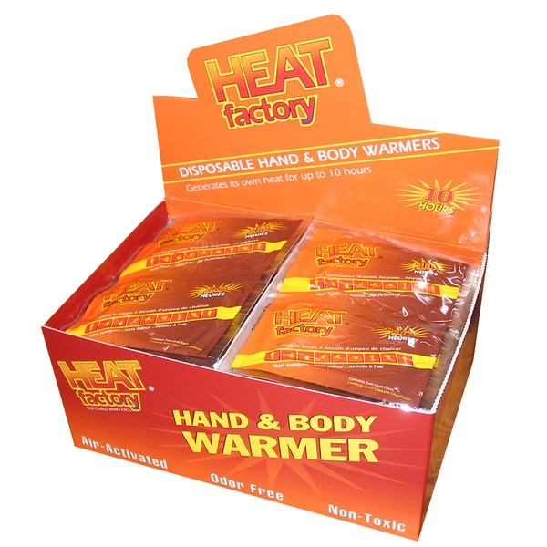 Heat Factory Mini Hand Warmers Box (Pack of 40 Pairs)