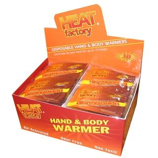 Heat Factory Mini Hand Warmers Box (Pack of 40 Pairs)