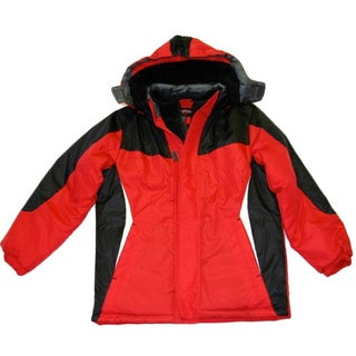Northpoint Boys Red Bubble Jacket (Size 8-18)