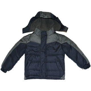 Northpoint Boys Navy Bubble Jacket (Sizes 4 -7)