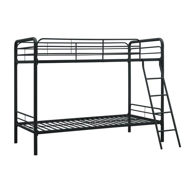 DHP Twin over Twin Metal Bunk Bed Overstock Shopping