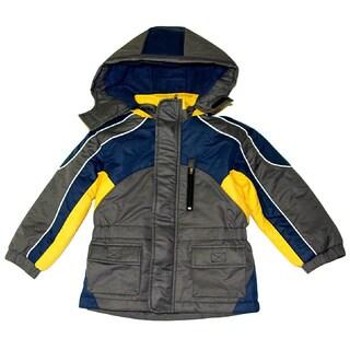Northpoint Boys Grey Parka (Sizes 4-7)