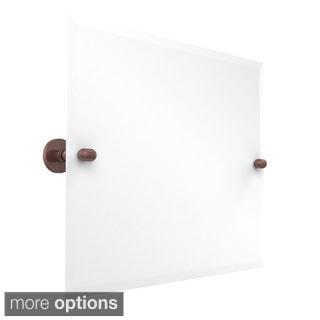 Tango Collection Beveled Edge Framless Rectangular LandscapeTilt Wall Mirror