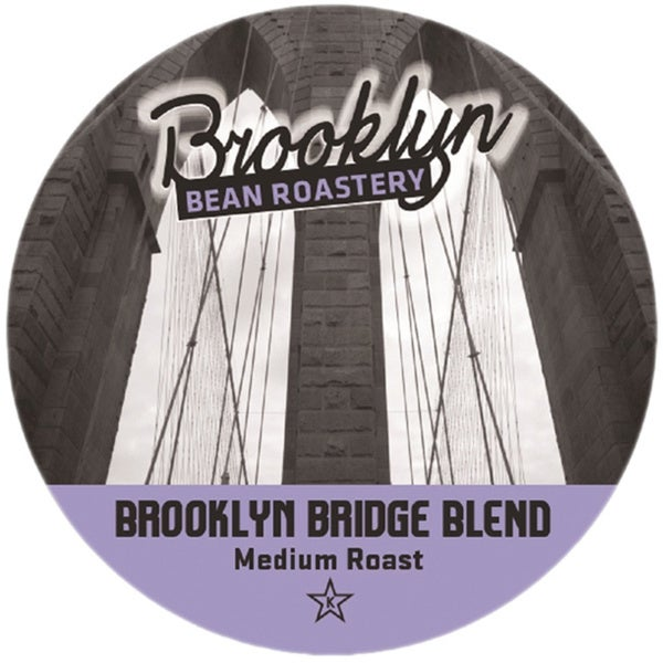 Brooklyn Bean Brooklyn Bridge Blend Single Serve Coffee K-Cups