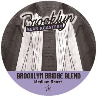 Brooklyn Bean Brooklyn Bridge Blend Single Serve Coffee K-Cups