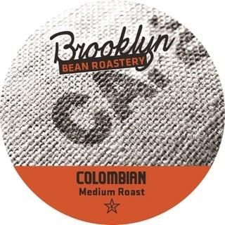 Brooklyn Bean Colombian Single Serve Coffee K-Cups
