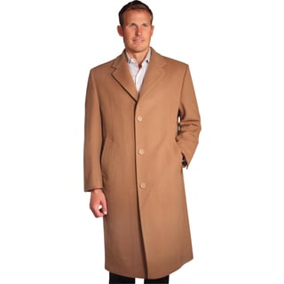 Jean Paul Germain Men's 'Sander' Camel Brown Overcoat