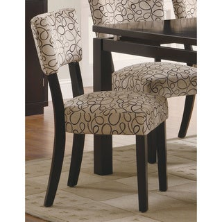 Dark Cappucino Libby Side Chair