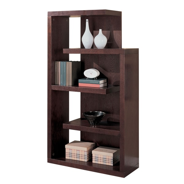 Cappucino Semi-blackless Bookcase
