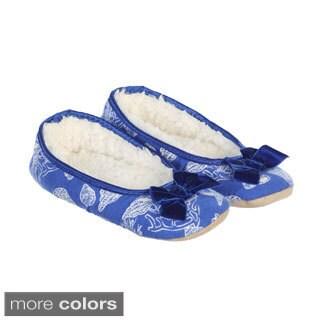 Hadari Women's Fleur De Lis Slippers
