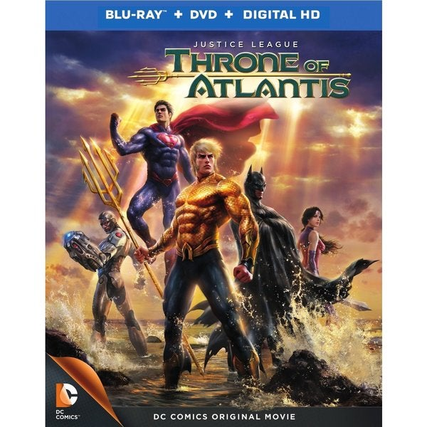 Justice League: Throne of Atlantis (Blu-ray Disc) 13956842