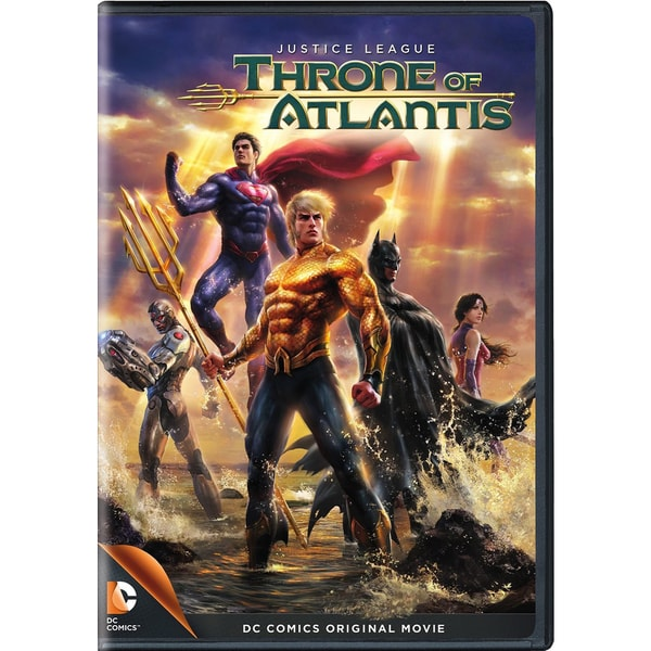 Justice League: Throne of Atlantis (DVD) 13956843