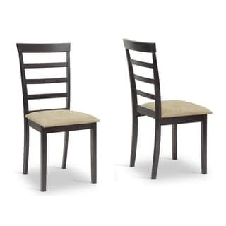 Baxton Studio Jet Sun Dining Chair Set of 2