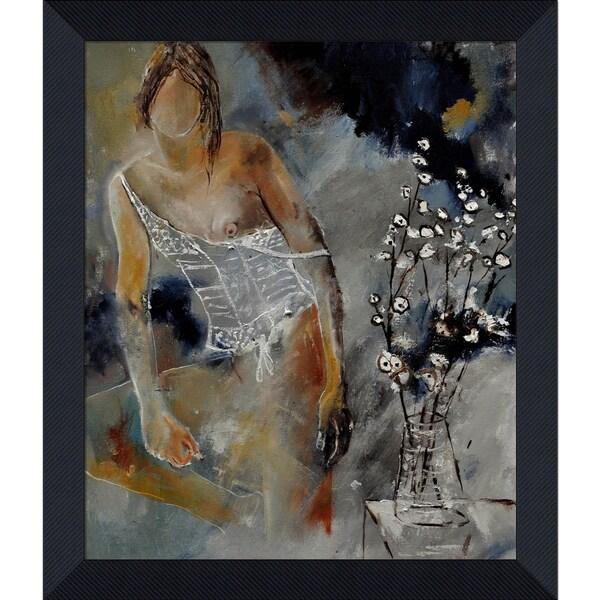 Pol Ledent 'Deshabille 66452 ' Framed Fine Art Print 13957060