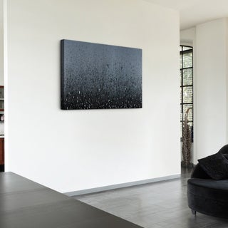 Justin Strom 'Blizzard' Gallery-wrapped Canvas Art