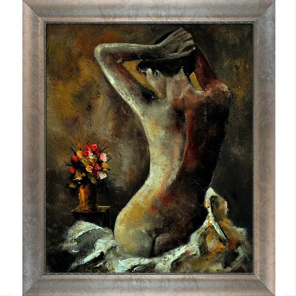 Pol Ledent 'Nude 452110 ' Framed Fine Art Print 13957110