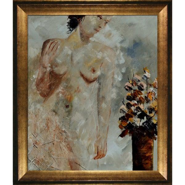 Pol Ledent 'Nude 1160 ' Framed Fine Art Print 13957121
