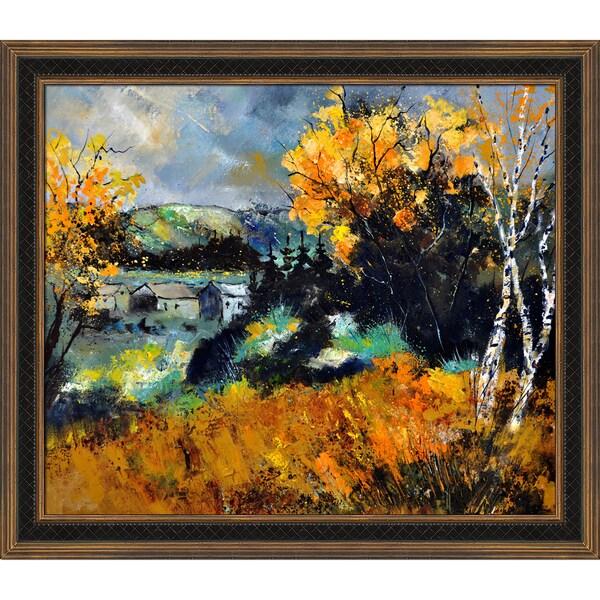 Pol Ledent 'Autumn in Ardennes 672101 ' Framed Fine Art Print