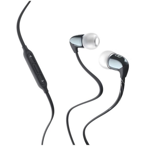 Logitech Dark Silver Ultimate Ears 500vi Noise-Isolating Headset (Refurbished)