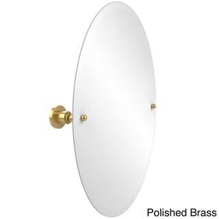 Allied Brass Astor Place Collection Frameless Oval Tilt Wall Mirror