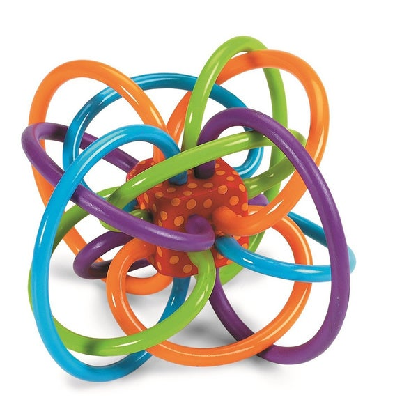 Manhattan Toy Winkel Rattle and Sensory Teether Activity Toy 13958169