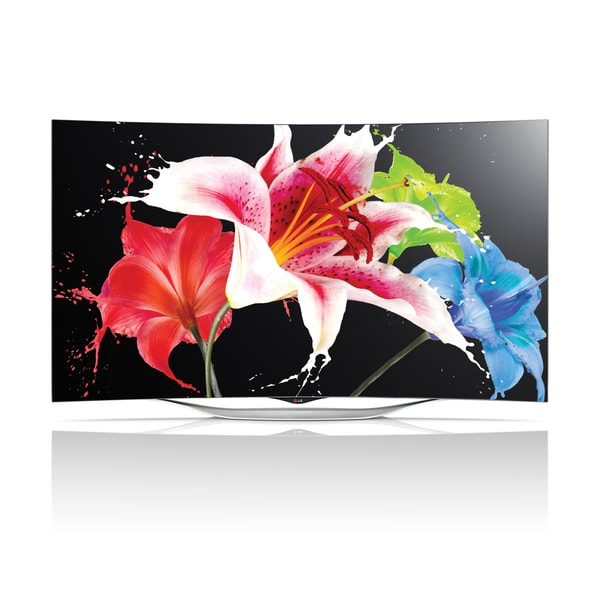 LG 55EC9300 55-inch class 1080p Smart 3D Curved OLED TV with WebOS