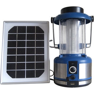 Wagan Classic Blue Solar Powered Lantern