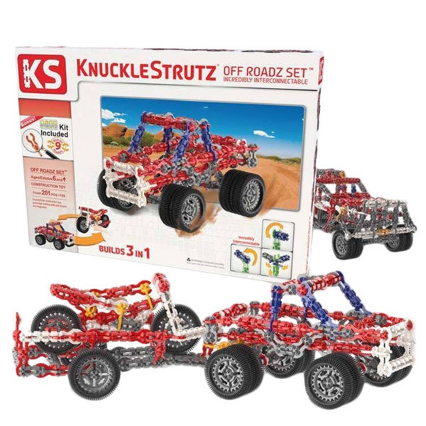 KnuckleStrutz Off Roadz Construction Toy Set