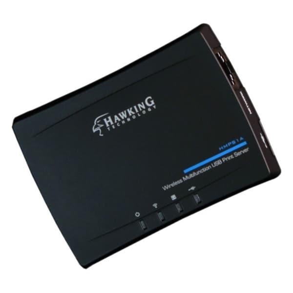 Hawking Wireless Multifunction USB Print Server