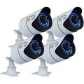 Night Owl CAM-4PK-930 1 Megapixel Surveillance Camera - 4 Pack - Colo