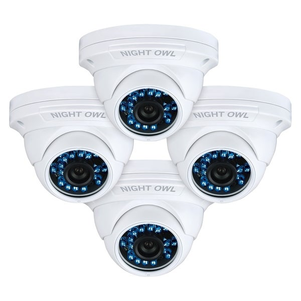 Night Owl CAM-4PK-DM924 1 Megapixel Surveillance Camera - 4 Pack - Co