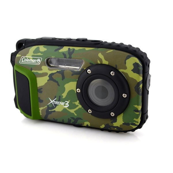 Coleman Xtreme3 20 MP Waterproof Digital Video Camera with 1080p HD Video 13962940
