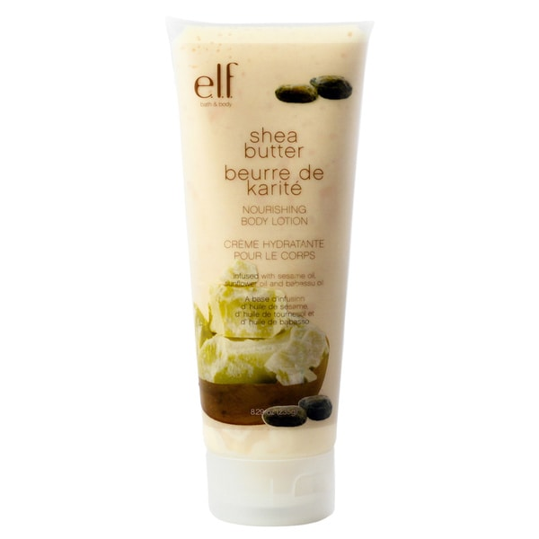 e.l.f. Shea Butter Nourishing 8.29-ounce Body Lotion