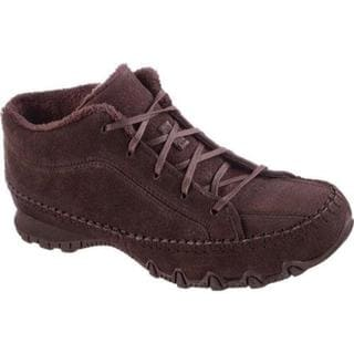 Women's Skechers Relaxed Fit Bikers Totem Pole Chocolate 13963473