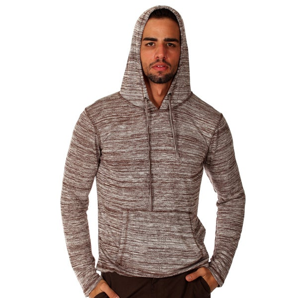 Something Strong Men's Grey Lightweight Pullover Hoodie