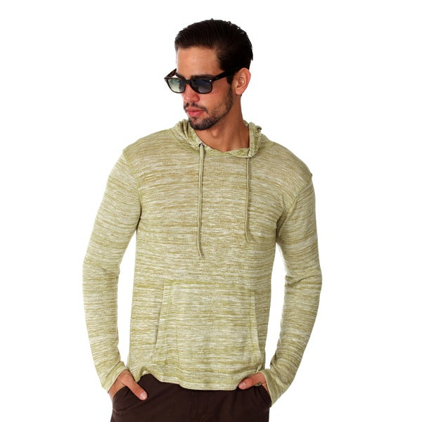 Something Strong Men's Green Lightweight Pullover Hoodie