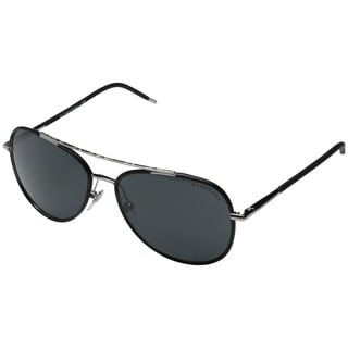 Burberry Men's BE3078J Silver Metal Aviator Sunglasses