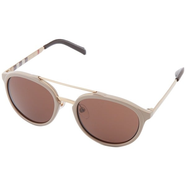 Burberry Men's BE4168Q Aviator Sunglasses