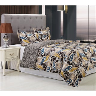 Cotton 300 Thread Count Midnight Duvet Cover Set