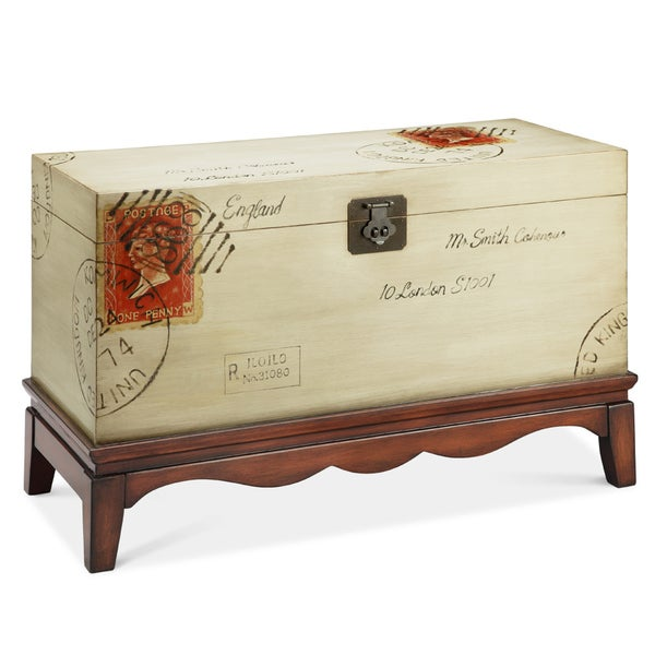 Madison Park Postage Trunk Chest